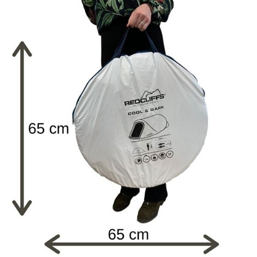 Redcliffs pop-up tent 1 persoons draagtas (1)