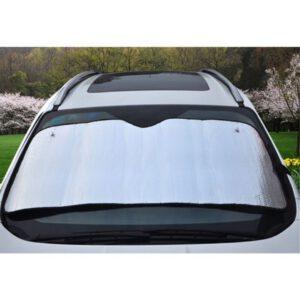 autoscherm zon op auto