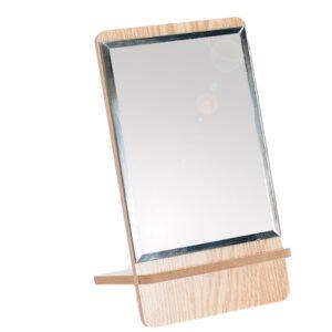 spiegel met hout