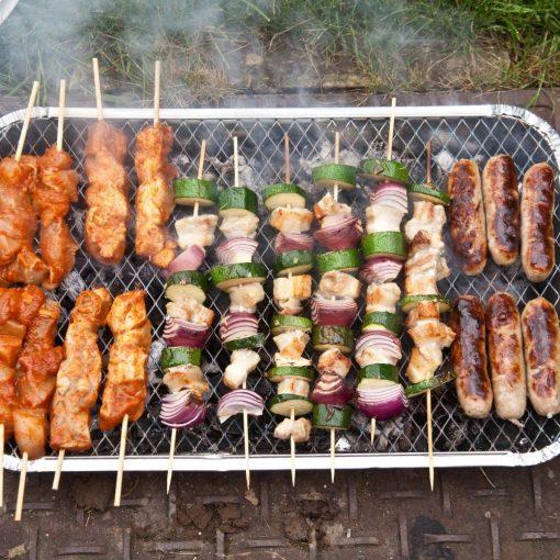 sfeerbeeld Wegwerp Barbecue