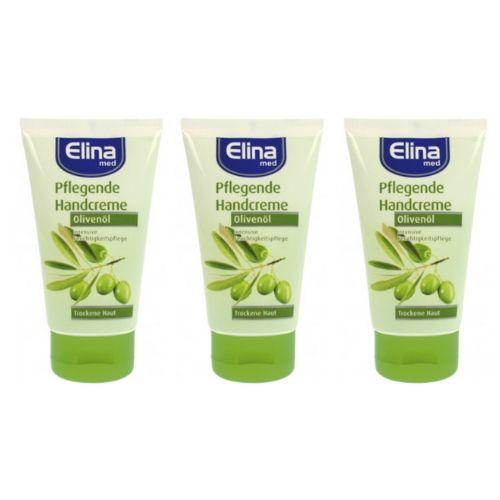 Elina Med Handcrème olijfolie 3 stuks 150 ml