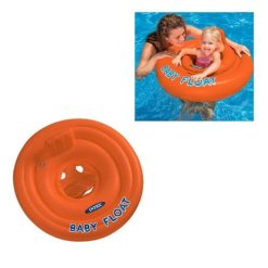 Intex Baby opblaasband zwemstoel oranje