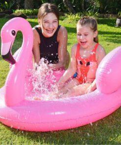 Orange85 Baby Zwembad Flamingo Roze 3