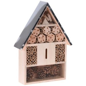 Orange85 Insectenhotel hout met metalen dak