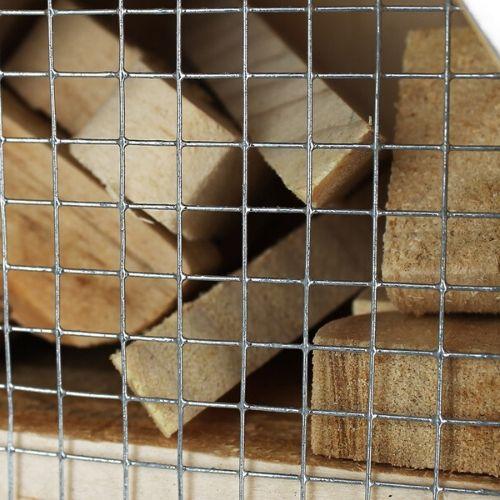 Orange85 Insectenhotel hout met metalen dak hout