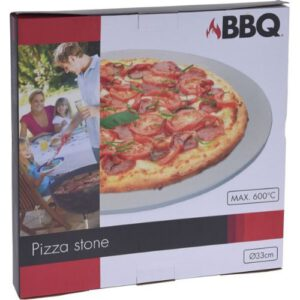 Orange85 Pizzasteen voor Oven en Barbecue