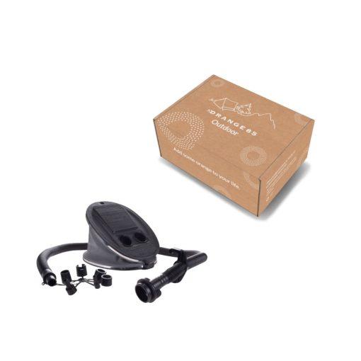 Voetpomp zwart verpakking