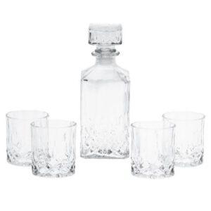 Orange85 Whiskey set 4 glazen met karaf