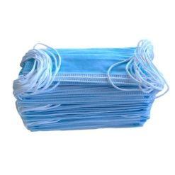 Romed Mondmaskers 50 stuks Papier 3-Laags met elastiekjes 3