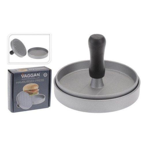 Hamburgerpers Aluminium 11 cm verpakking