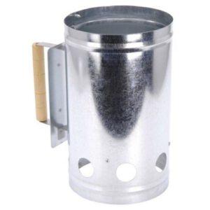 Orange85 BBQ starter metaal met handvat