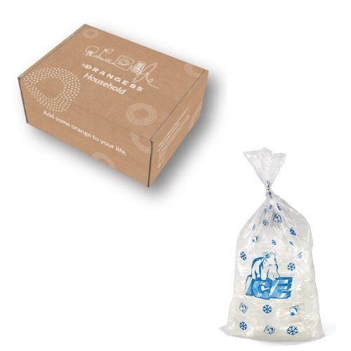 Orange85 Herbruikbare Zakje IJsblokjes 1,2 kg + doos
