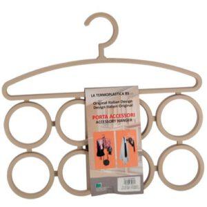 Orange85 Kledinghanger Multifunctioneel 4 stuks voor Riemen, Sjaals en Stropdassen