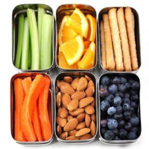 Orange85 Lunchbox set Groen 850 en 550 ml RVS 3