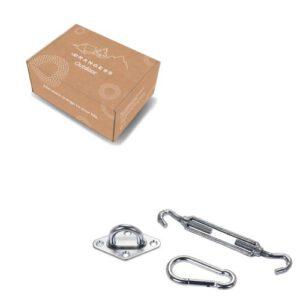 Orange85 Schaduwdoek Accessoires 3-delig