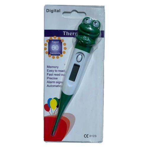Orange85 Thermometer Kind Flexibel Digitaal Kikker 3