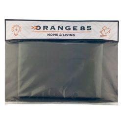Orange85 Douchegordijn Grijs 180 x 200 cm