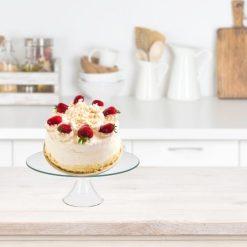 Excellent Houseware Glazen taartplateau