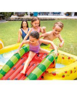 Intex Kinderzwembad met Glijbaan