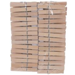 Orange85 Bamboe wasknijpers 60 stuks