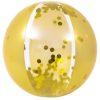 Orange85 Gouden Strandbal Glitter 50 cm