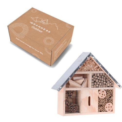 Orange85 Insectenhotel Hout Groot doos