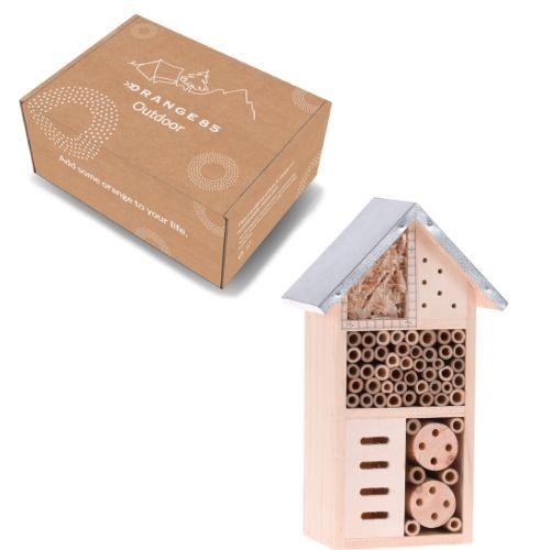 Orange85 Insectenhotel Hout klein doos