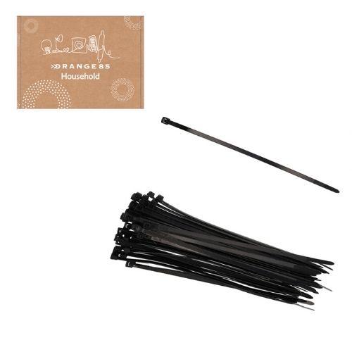 Orange85 Kabelbinder Tie Wraps Plastic Zwart 150 stuks (2)