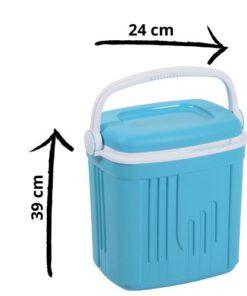 Orange85 Koelbox 20 liter blauw 39 cm afmetingen (1)