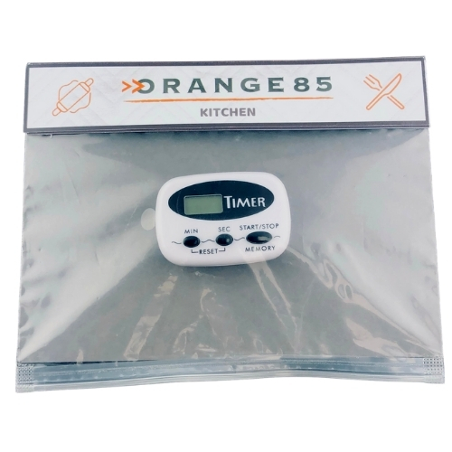 Orange85 Kookwekker Digitaal Wit