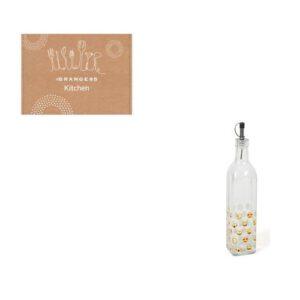 Orange85 Oliefles Glas en Metaal Keuken