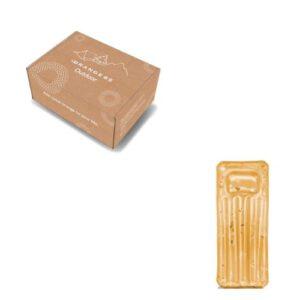 Orange85 Opblaasbaar Glitter Luchtbed Goud