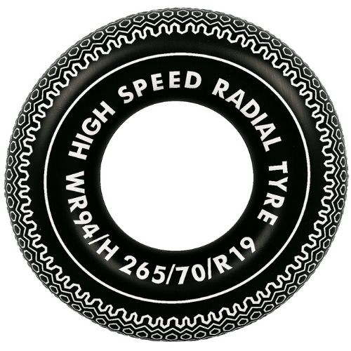 Orange85 Opblaasbare Zwembad Autoband 90 cm
