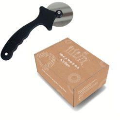 Orange85 Pizzasnijder Pizzaroller zwart 20 cm 4 (1)