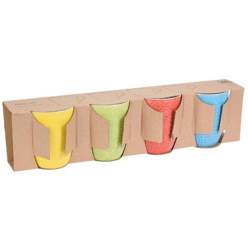 Orange85 Porselein mokken 4 stuks 380 ml verpakt