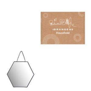 Orange85 Spiegel Honinggraat met Ketting
