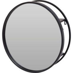 Orange85 Spiegel Rond Metaal Zwart 50 cm