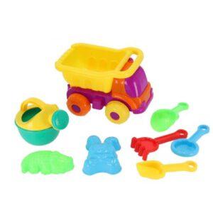 Orange85 Strand Speelgoed Vrachtwagen 8-delig