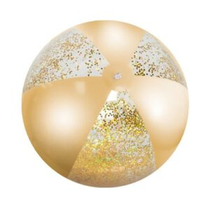 Orange85 Strandbal Glitter Goud