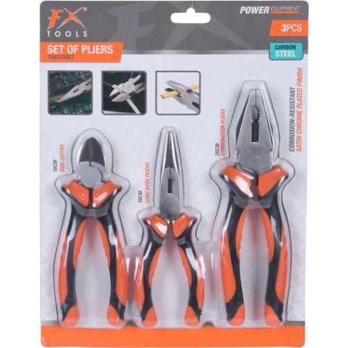 Orange85 Tangenset 16 - 20 cm 3 stuks 2