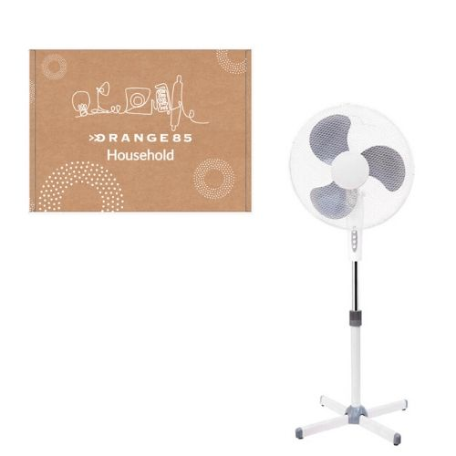 Orange85 Ventilator Staand Plastic Wit (1)