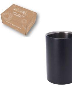 Orange85 Wijnkoeler RVS Zwart (1)