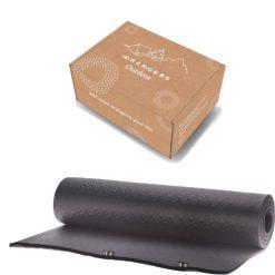 Orange85 Yogamat Fitnessmat Zwart 180 x 60 cm + doos