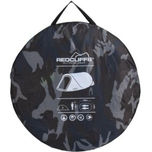 Redcliffs Pop-up Tent Legerkleur 2-persoons verpakking