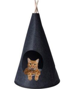 Orange85 Katten Tipitent Zwart 40 x 70 cm