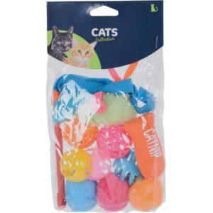 Orange85 Katten speelgoed Set van 6 stuks