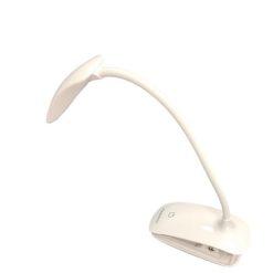Orange85 Bureaulamp met klem wit touch