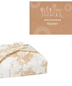 Orange85 Cake bewaardoos Opbergdoos Taartdoos vierkant 40x40cm 2 stuks (1)