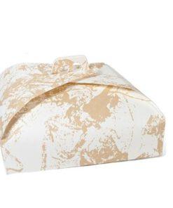 Orange85 Cake bewaardoos Opbergdoos Taartdoos vierkant 40x40cm 2 stuks