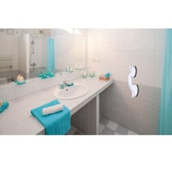 Orange85 Handgreep badkamer met Zuignap wit (6)